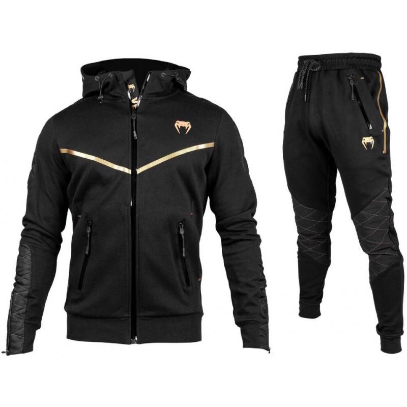 Спортивний костюм Venum Laser Evo Black/Gold фото 1