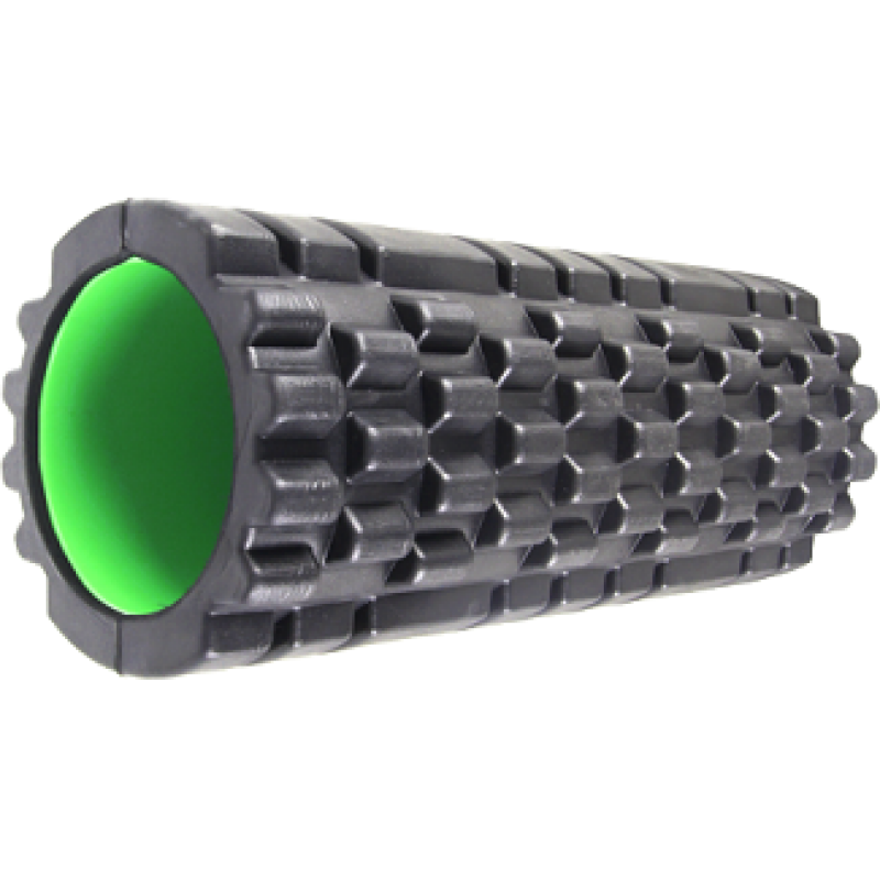 Массажный ролик Power System Black/Green (01756) фото 1