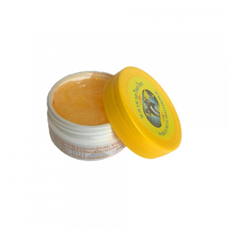 Жовтий Тайський бальзам Муай Тай (01638) фото 1