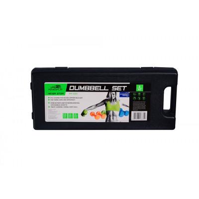 Набор гантелей в кейсе PowerPlay 4103 6кг (01802) фото 4