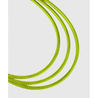 Скакалка Venum Thunder Evo Jump Rope Black/Yellow (02179) фото 4