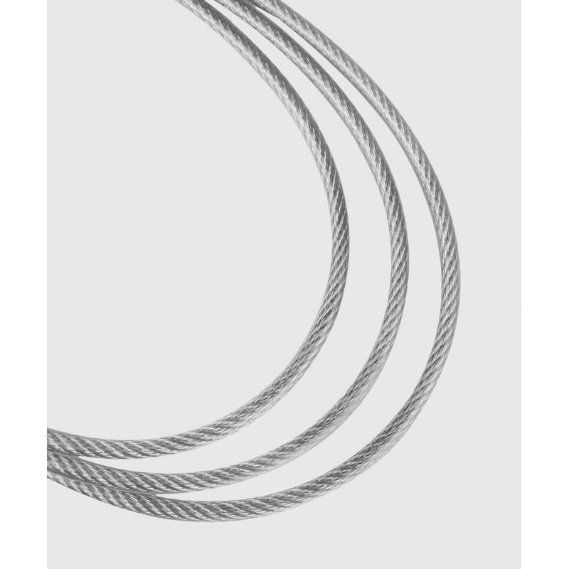 Скакалка Venum Thunder Evo Jump Rope Silver (02177) фото 4