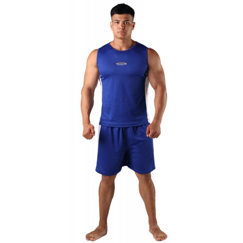 Майка боксёрская Berserk Boxing Blu (01236) фото 7