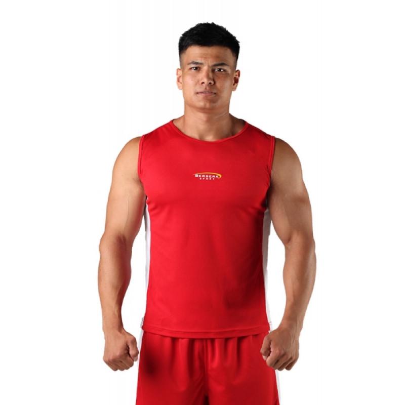 Майка боксёрская Berserk Boxing red (01237) фото 1