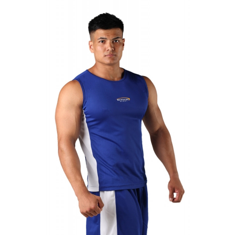 Майка боксёрская Berserk Boxing Blu (01236) фото 6