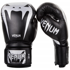 Перчатки Venum Giant 3.0 Boxing Gloves Nappa B/Silver