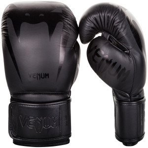 Перчатки Venum Giant 3.0 Boxing Gloves Nappa Black/Black