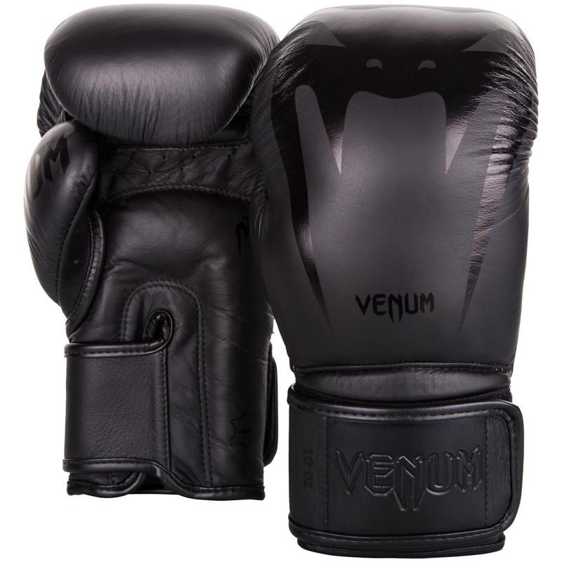 Перчатки Venum Giant 3.0 Boxing Gloves Nappa Black/Black (01710) фото 2
