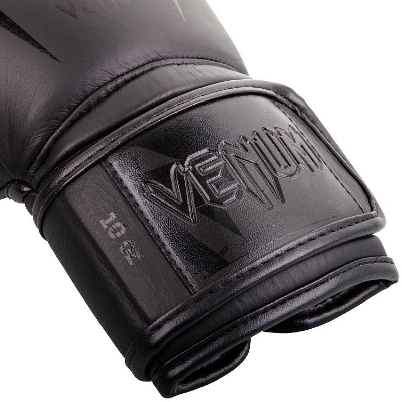 Перчатки Venum Giant 3.0 Boxing Gloves Nappa Black/Black (01710) фото 4