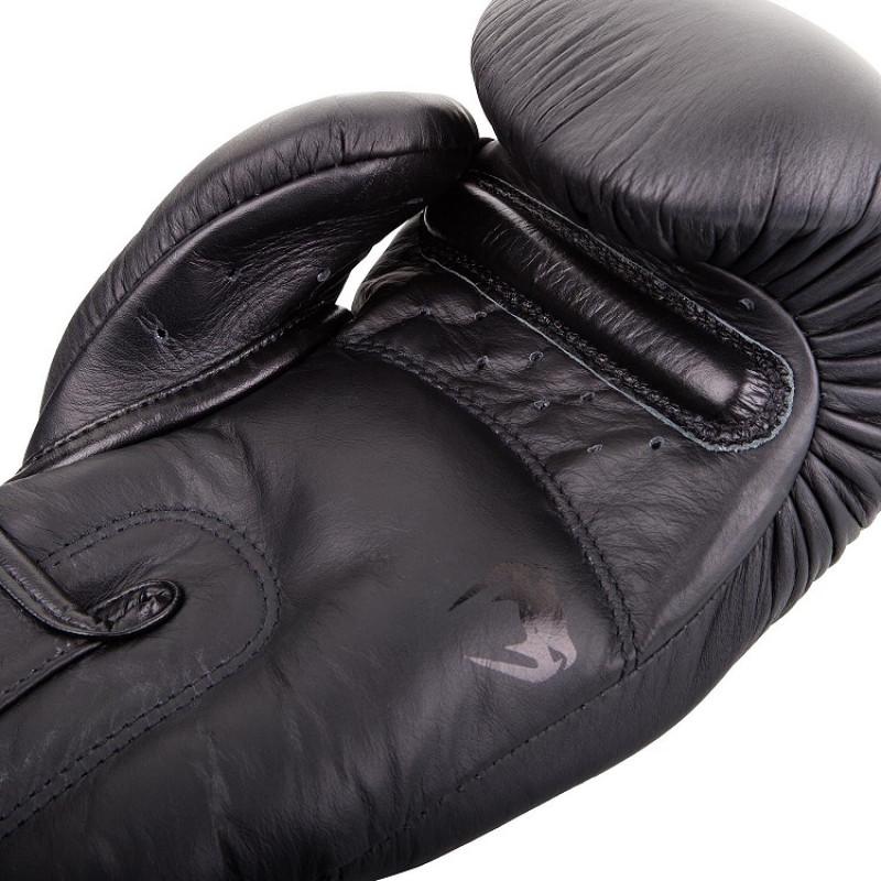 Перчатки Venum Giant 3.0 Boxing Gloves Nappa Black/Black (01710) фото 3