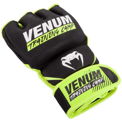Перчатки Venum Training Camp 2.0 MMA Black/Neo (01749) фото 3