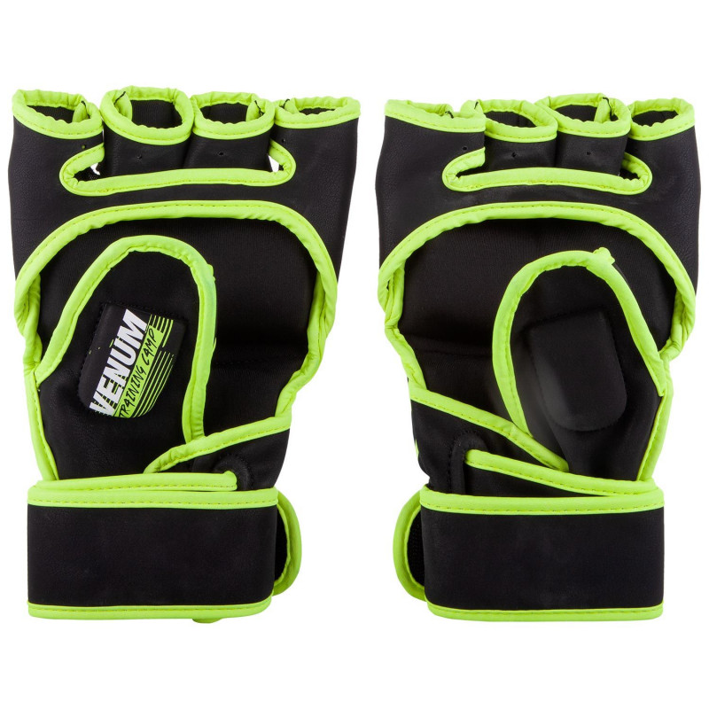 Перчатки Venum Training Camp 2.0 MMA Black/Neo (01749) фото 2