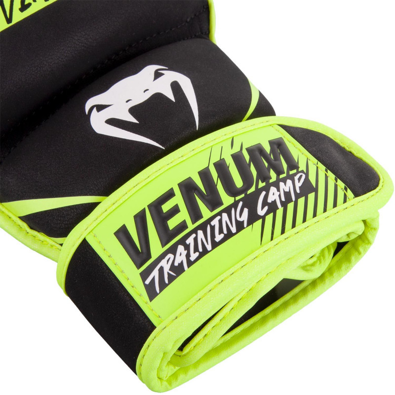 Перчатки Venum Training Camp 2.0 MMA Black/Neo (01749) фото 7