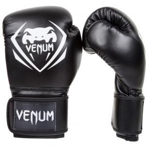 Перчатки Venum Contender Boxing Gloves Black