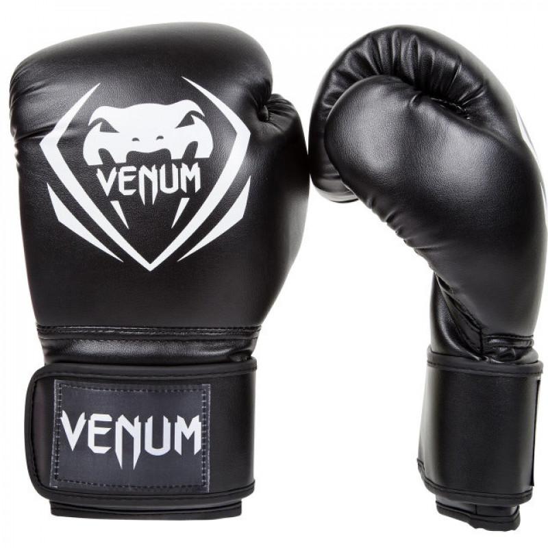 Перчатки Venum Contender Boxing Gloves Black (01348) фото 1