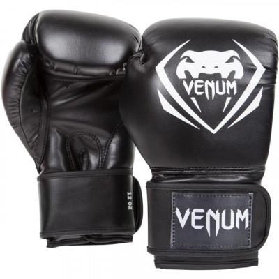 Перчатки Venum Contender Boxing Gloves Black (01348) фото 3