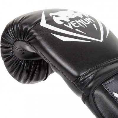 Перчатки Venum Contender Boxing Gloves Black (01348) фото 5