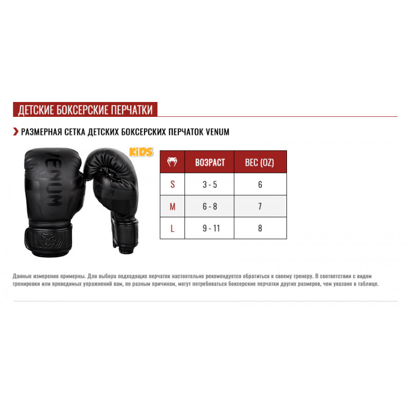 Перчатки Venum Devil Boxing Gloves (01561) фото 7