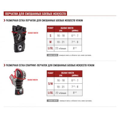 Перчатки Venum Gladiator 3.0 MMA Gloves Black (01559) фото 6