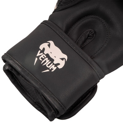 Перчатки Venum Dragons Flight Boxing Gloves Black/Sand (01706) фото 4