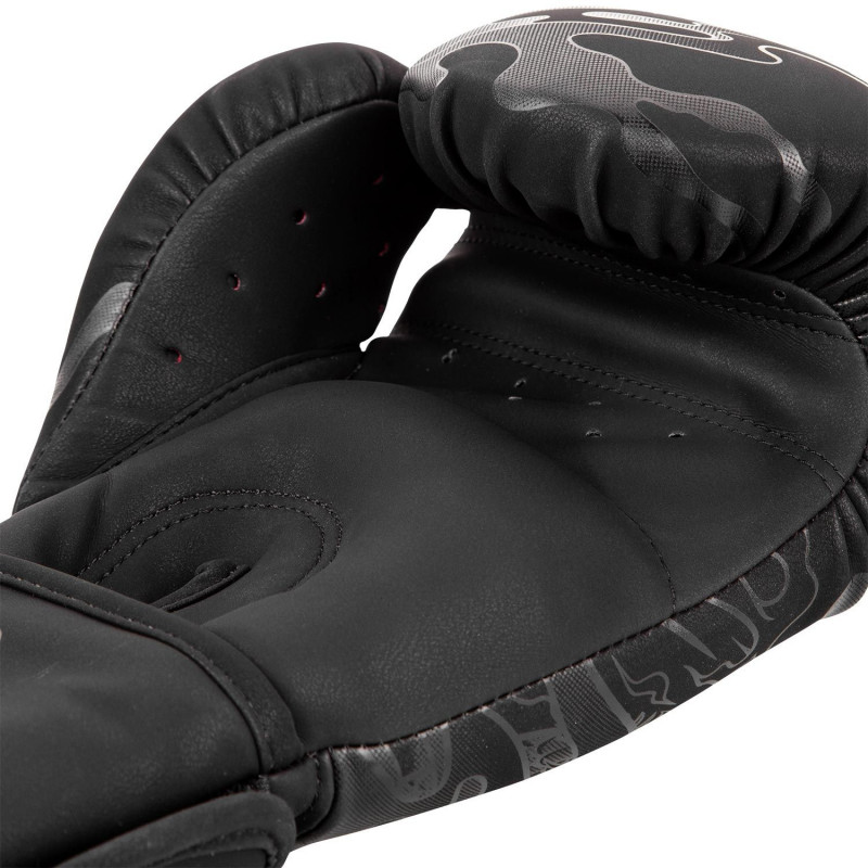 Перчатки Venum Dragons Flight Boxing Gloves Black/Black (01705) фото 6