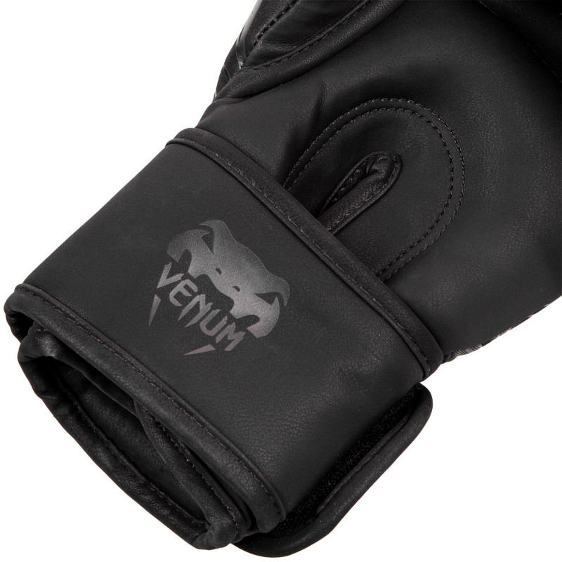 Перчатки Venum Dragons Flight Boxing Gloves Black/Black (01705) фото 4