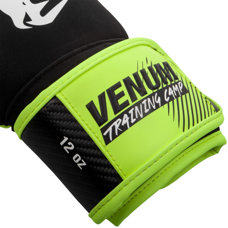 Перчатки Venum Training Camp 2.0 Boxing Black/Neo (01748) фото 4