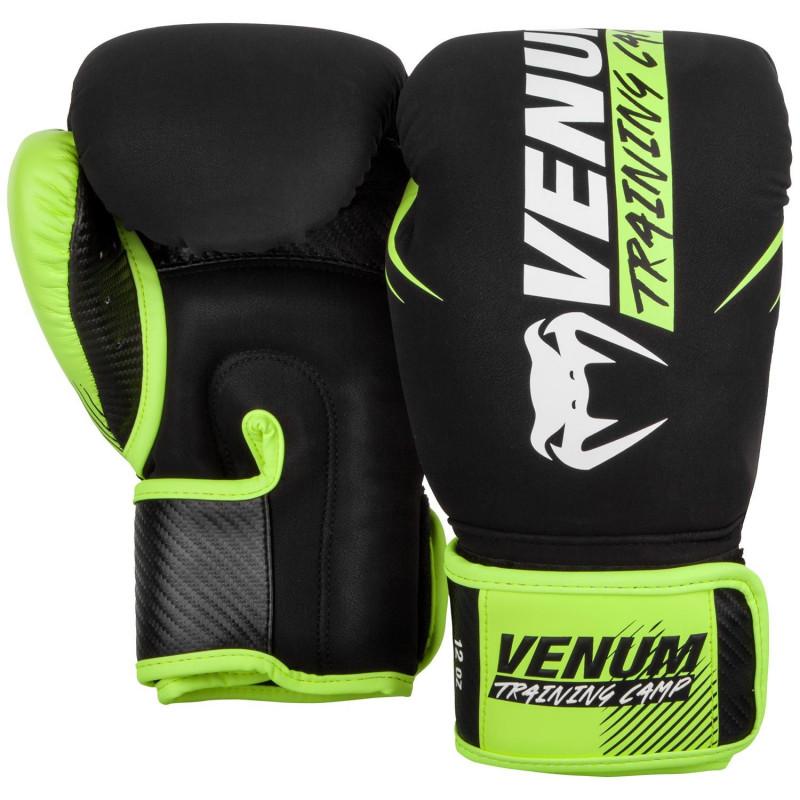 Перчатки Venum Training Camp 2.0 Boxing Black/Neo (01748) фото 2