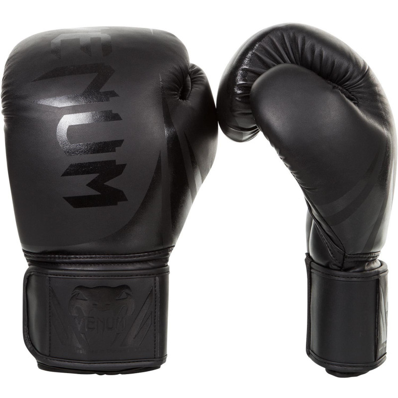 Перчатки Venum Challenger 3.0 Boxing Gloves Black (01538) фото 1