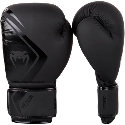 Перчатки Venum Boxing Gloves Contender 2.0 Black (01539) фото 1
