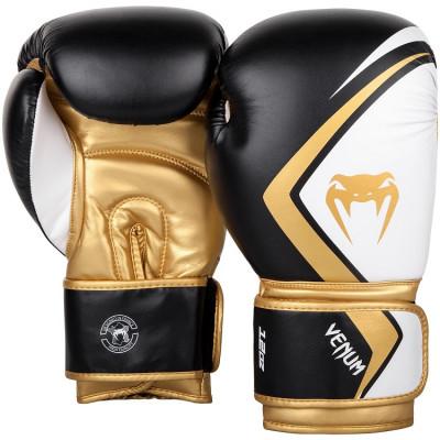 Перчатки Venum Boxing Gloves Contender 2.0 B/W/G (01565) фото 2