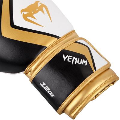 Перчатки Venum Boxing Gloves Contender 2.0 B/W/G (01565) фото 3