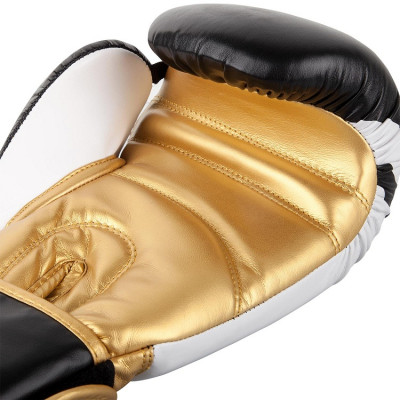 Перчатки Venum Boxing Gloves Contender 2.0 B/W/G (01565) фото 4