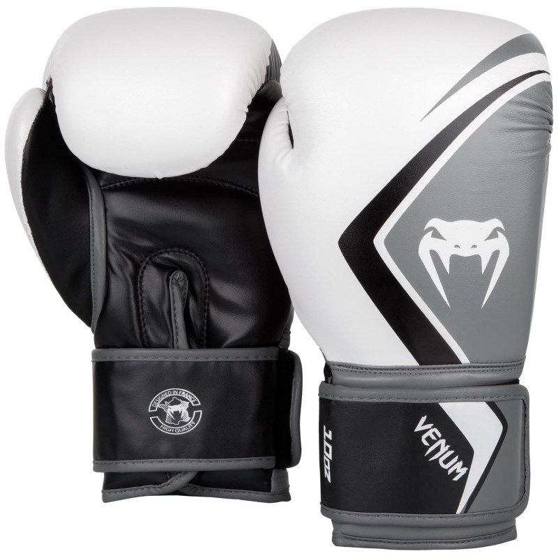 Перчатки Venum Boxing Gloves Contender 2.0 White/Grey (01550) фото 2