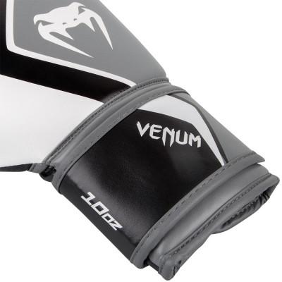 Перчатки Venum Boxing Gloves Contender 2.0 White/Grey (01550) фото 5
