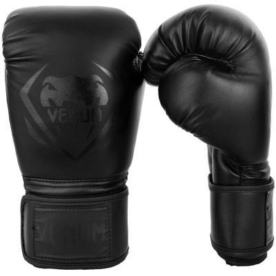 Перчатки Venum Contender Boxing Black/Black (01356) фото 1