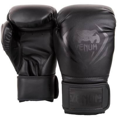 Перчатки Venum Contender Boxing Black/Black (01356) фото 2