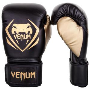 Перчатки Venum Contender Boxing Black/Gold