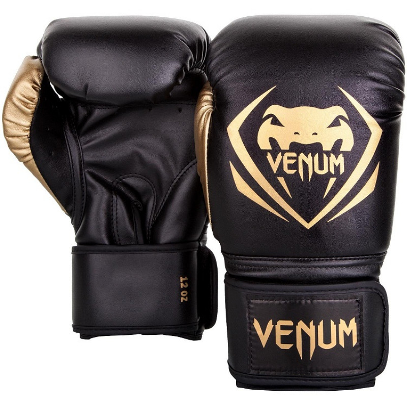 Перчатки Venum Contender Boxing Black/Gold (01357) фото 2
