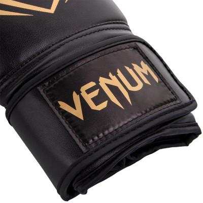 Перчатки Venum Contender Boxing Black/Gold (01357) фото 4