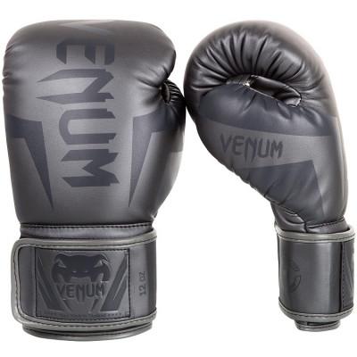 Боксерские перчатки Venum Elite Boxing Gloves Grey (01176) фото 1