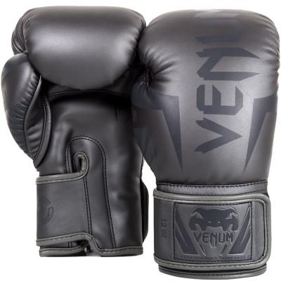 Боксерские перчатки Venum Elite Boxing Gloves Grey (01176) фото 2