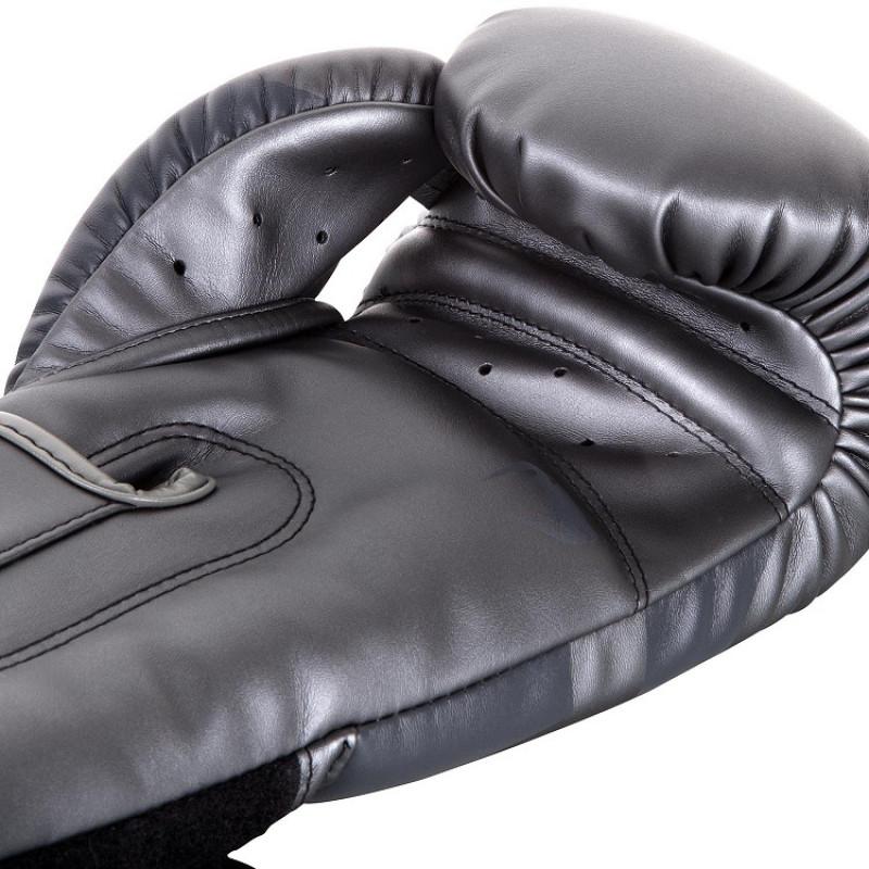 Боксерские перчатки Venum Elite Boxing Gloves Grey (01176) фото 3