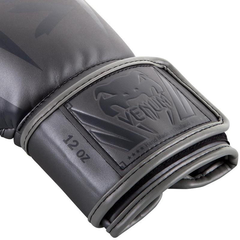 Боксерские перчатки Venum Elite Boxing Gloves Grey (01176) фото 4