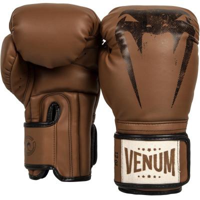 Перчатки Venum Giant Sparring Boxing Gloves Brown (01320)