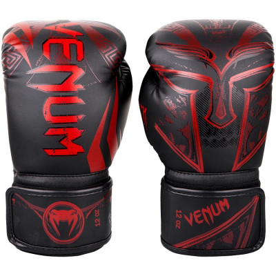 Перчатки Venum Gladiator 3.0 Boxing Gloves Black/Red (01556) фото 2