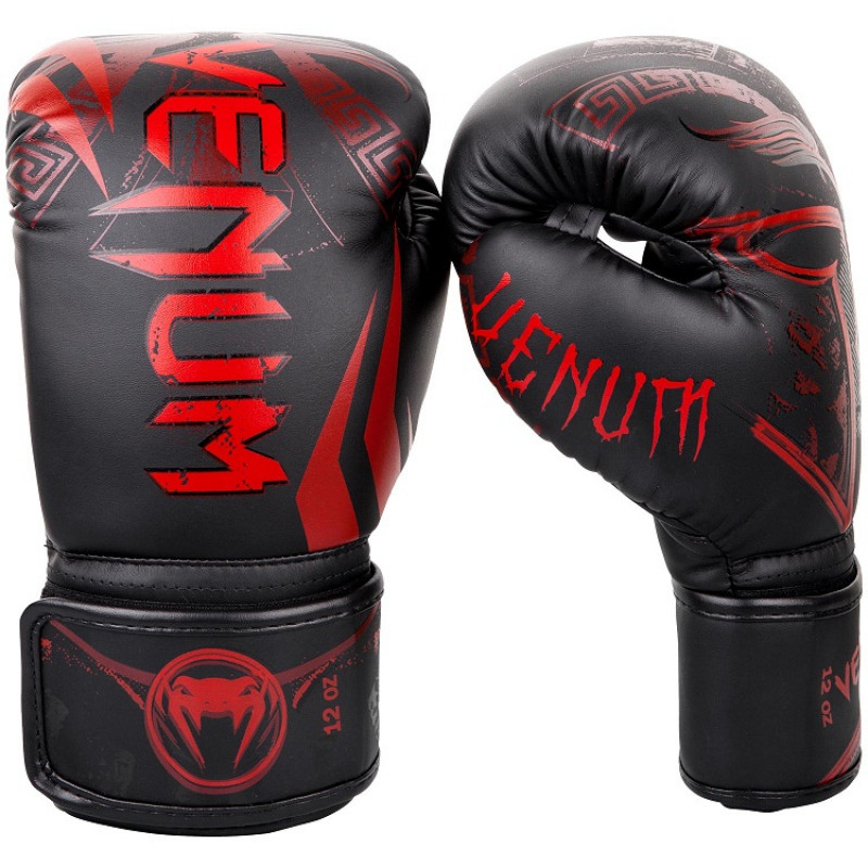 Перчатки Venum Gladiator 3.0 Boxing Gloves Black/Red (01556) фото 1