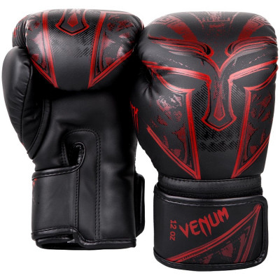 Перчатки Venum Gladiator 3.0 Boxing Gloves Black/Red (01556) фото 3
