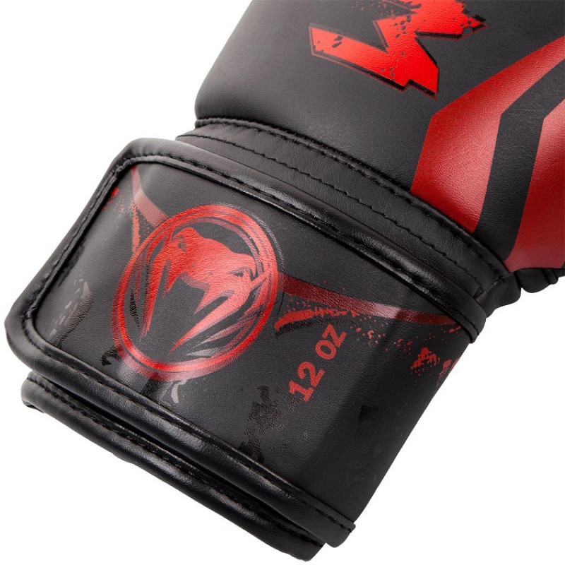 Перчатки Venum Gladiator 3.0 Boxing Gloves Black/Red (01556) фото 3