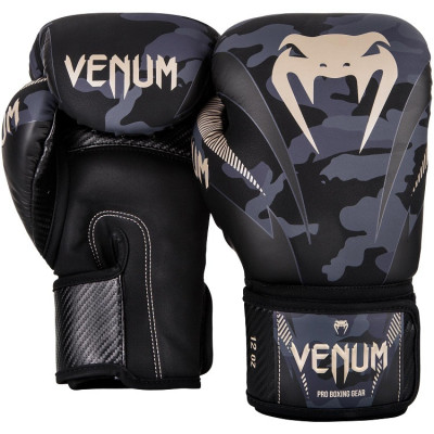 Перчатки Venum Impact Boxing Dark Camo/Sand (01358) фото 2